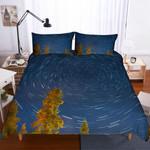 3d Blue Sky Spiral Bedding Set Bedroom Decor
