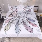 Moon Dreamcatcher Bedding Set Bedroom Decor