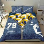 Volleyball Zipper Bedding Set Bedroom Decor