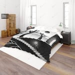 3d Black White Cartoon Comfortable Bedding Set Bedroom Decor