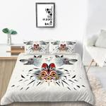 Tribal Mask Printed Bedding Set Bedroom Decor