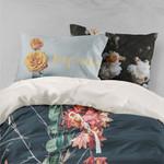 3d Autumn Red Maple Leaf Bedding Set Bedroom Decor