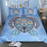 Textured Turtles Blue Bedding Set Bedroom Decor