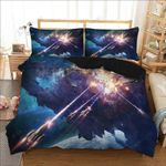Wars Interstellar Cool Space Galaxy Printed Bedding Set Bedroom Decor
