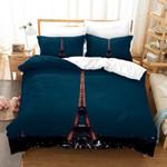 3d City Lighthouse Eiffel Tower Bedding Set Bedroom Decor