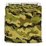 Green Military And Black Brown Camouflage Bedding Set Bedroom Decor
