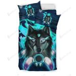 Warrior Wolf With Solid Mental Health Bedding Set Bedroom Decor