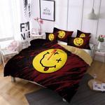 Smiley Emoji Bedding Set Bedroom Decor