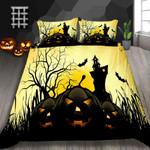 Pumpkin Halloween Printed Bedding Set Bedroom Decor