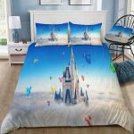 Castle In The Clouds Printed Bedding Set Bedroom Decor