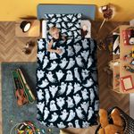 Funny Ghost Bedding Set Bedroom Decor