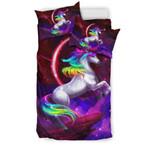 Unicorn With Rainbow Mane Bedding Set Bedroom Decor