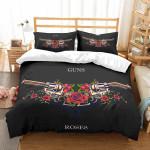 3d Customize Guns Roses Bedding Set Bedroom Decor
