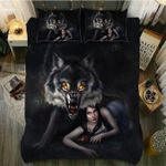 Beauty And The Wolf Bedding Set Bedroom Decor