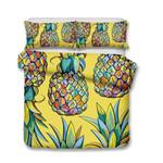 Theme Fruit Pineapple Digital Printed Bedding Set Bedroom Decor