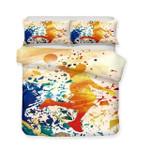 Colorful Design Basketball Bedding Set Bedroom Decor