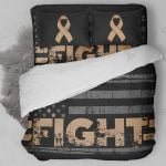 Fight Childhood Cancer Bedding Set