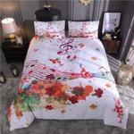 Art Music Artistic Pod Printed Bedding Set Bedroom Decor