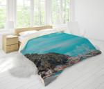 3d Blue Sea Bridge Forest Bedding Set Bedroom Decor