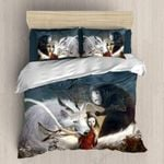 Ghibli Wolf No Face Printed Bedding Set Bedroom Decor