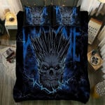 Heavy Metal Skull Printed Bedding Set Bedroom Decor