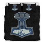 Thor's Hammer Mjolnir Bedding Set Bedroom Decor