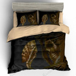 Sugar Skull Playing Cards 3D Bedding Set Bedroom Decor