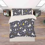 3d Color Cartoon Unicorn Pattern Bedding Set Bedroom Decor