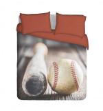 Baseball Bat And Ball Bedding Set Bedroom Decor