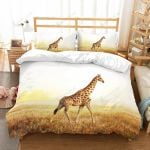 3d Giraffe Bedding Set Bedroom Decor
