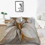 Ribbon Elegant Printed Bedding Set Bedroom Decor