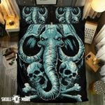 Skull And Mammoth Printed Bedding Set Bedroom Decor