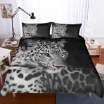 3d Black White Animals Leopard Bedding Set Bedroom Decor