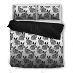 Multi Rabbit Design Bedding Set Bedroom Decor