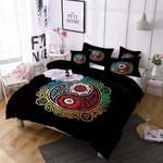 Tai Chi Colorful Mandala Printed Bedding Set Bedroom Decor