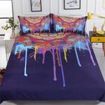 Watercolor Bohemian Art Bedding Set Bedroom Decor