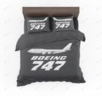 The Boeing 747 Designed Bedding Set Bedroom Decor