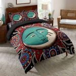Sun And Moon Vintage Colorful 3D Bedding Set Bedroom Decor