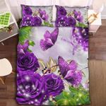Butterfly Collection Printed Bedding Set Bedroom Decor