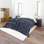 3d Black White Geometry Stripes Bedding Set Bedroom Decor