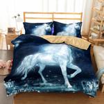 Vague Dream Unicorn Printed Bedding Set Bedroom Decor