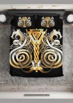 Norse Twin Fenrir Printed Bedding Set Bedroom Decor