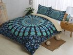 3d Bohemian Green Bedding Set Bedroom Decor