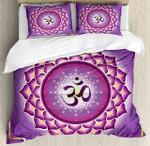 Arabesque Chakra And Meditation Circle Asian Spiritual Yoga Bedding Set Bedroom Decor