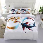 3d Goldfish Tai Chi Bedding Set Bedroom Decor