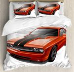 Modern Muscle Car Exotic Sports Hobby Activity Leisure Bedding Set Bedroom Decor
