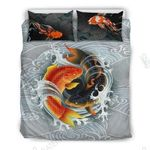 Koi Fish Japanese Bedding Set Bedroom Decor