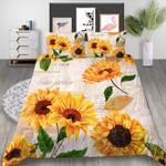 Sunflower Poetic Artistic 3D Bedding Set Bedroom Decor