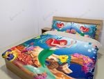 The Little Mermaid Printed Bedding Set Bedroom Decor