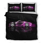 Modern Purple Subaru Car Bedding Set Bedroom Decor